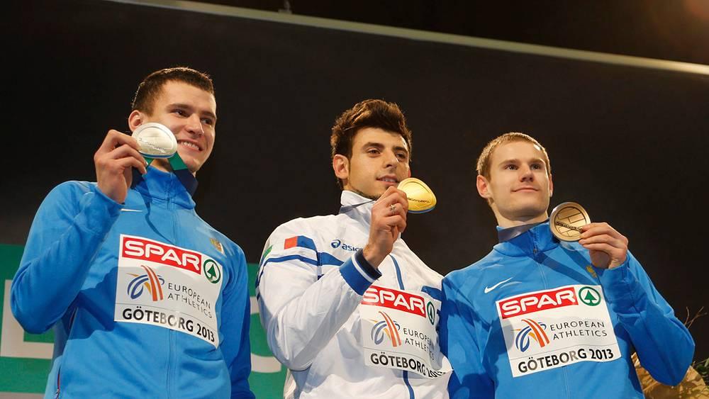 Руслан Самитов, Даниэле Греко, Алексей Федоров (слева направо)