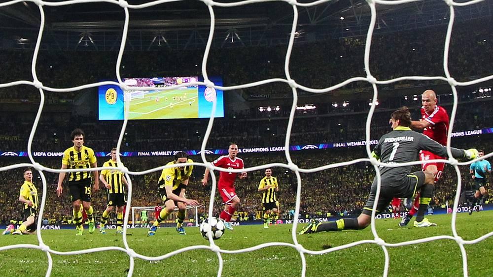 Победный гол голландского полузащитника Арьена Роббена