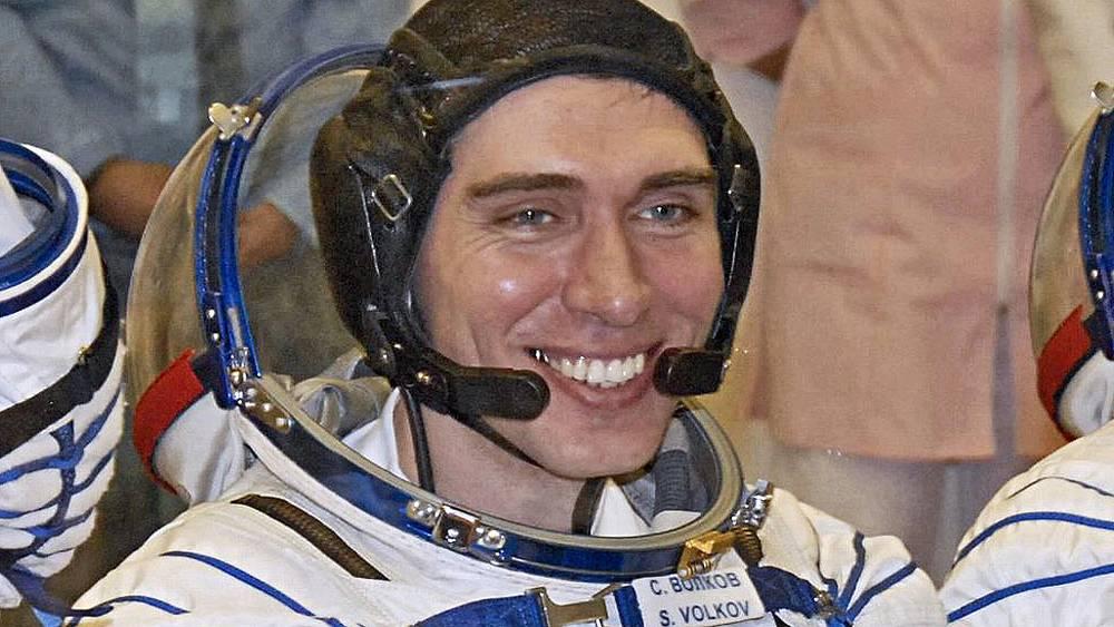 Сергей Волков, сын Александра Волкова, перед стартом. 2008 год