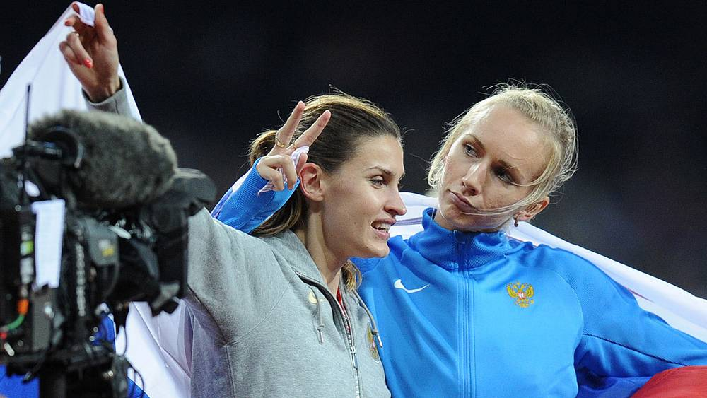 """А. Чичерова и С. Школина выиграли """"золото"""" и """"бронзу"""" по прыжкам в высоту"""