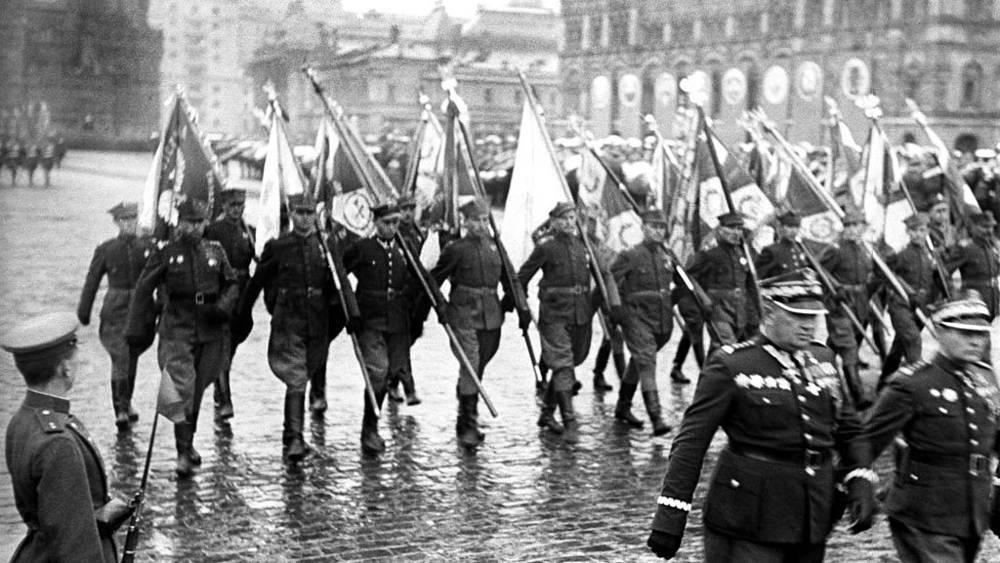 Парад Победы на Красной площади, 1945 г