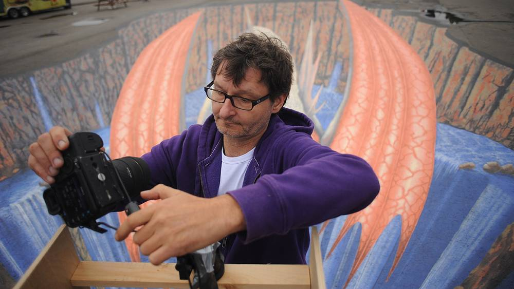 Немецкий художник в стиле street art Эдгар Мюллер