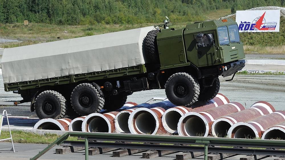 Многоцелевой грузовой автомобиль МЗКТ-6001