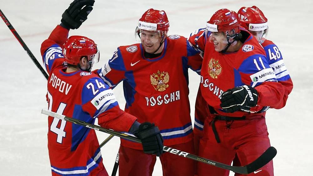 Александр Попов, Александр Пережогин, Евгений Малкин и Евгений Бирюков