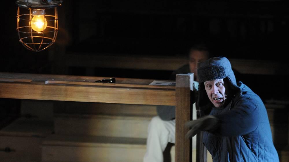 """Спектакль по роману А.Солженицына """"Шарашка"""", 2008 год"""