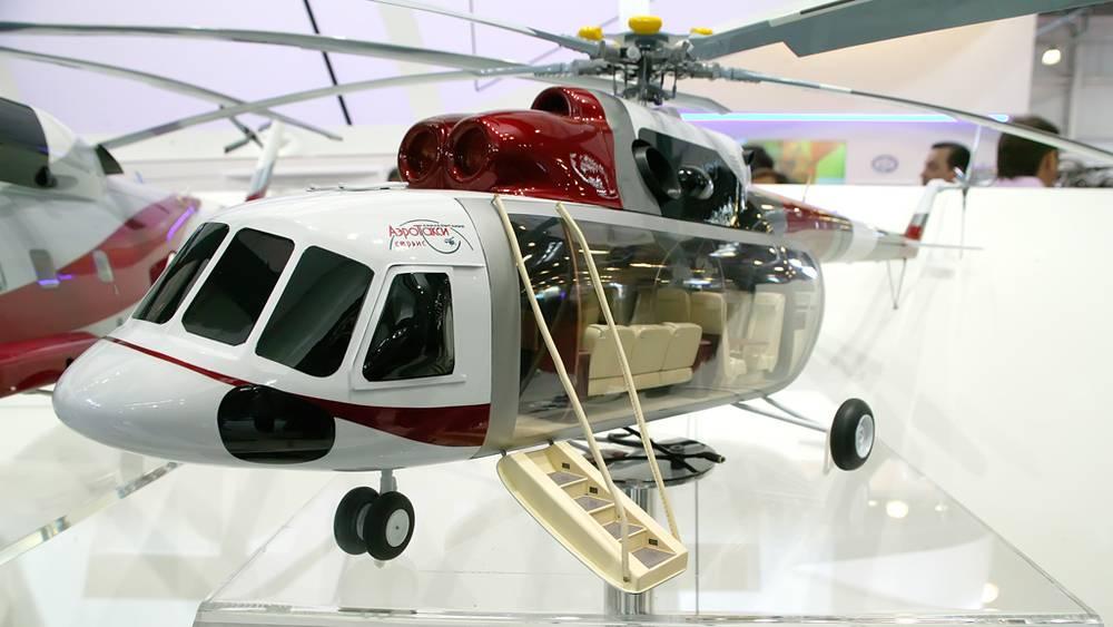 Аэротакси Ми-8/17 на выставке HeliRussia-2012