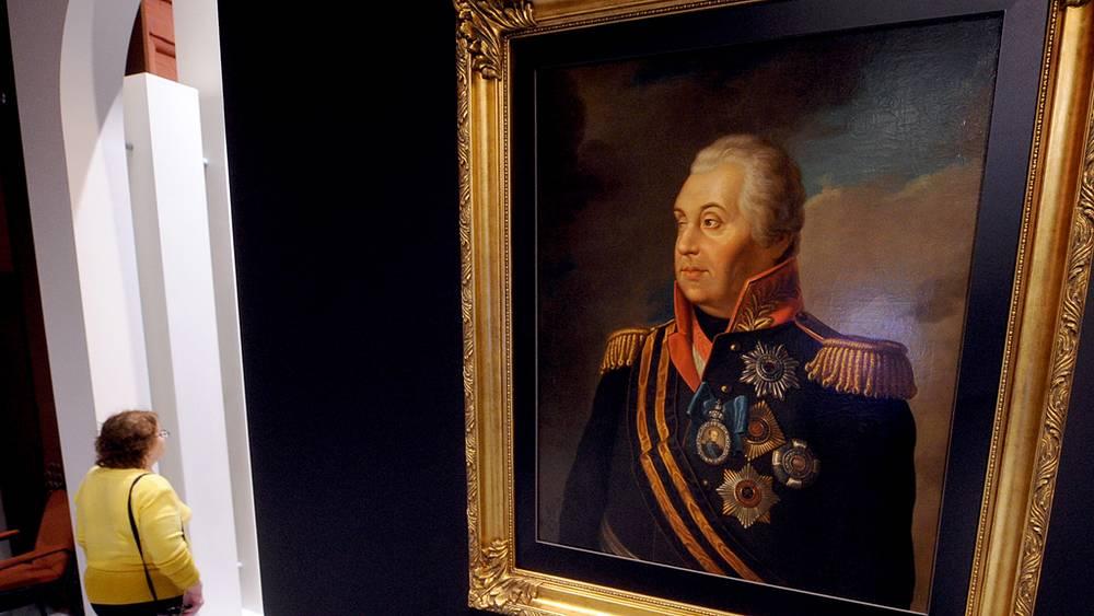 Портрет светлейшего князя М.И.Голенищева-Кутузова-Смоленского