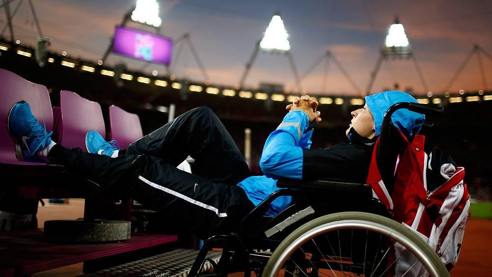 Легкоатлетка Елена Бурдыкина перед соревнованиями