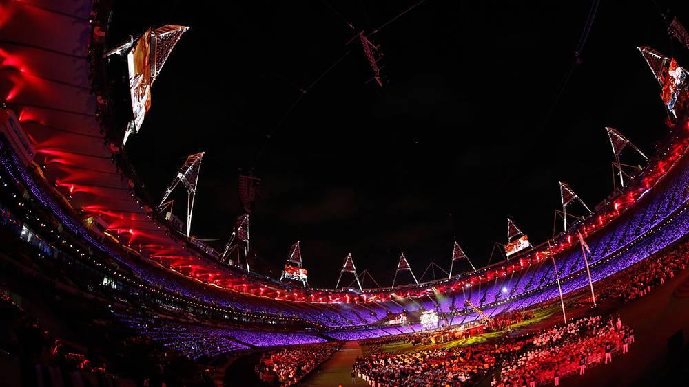 На Олимпийском стадионе в Стратфорде