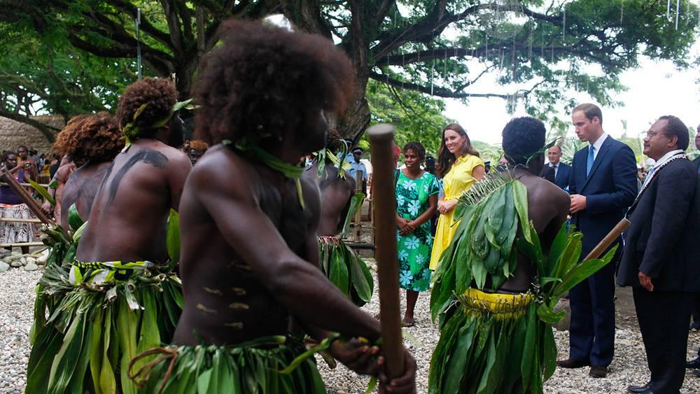 Встреча на Соломоновых островах