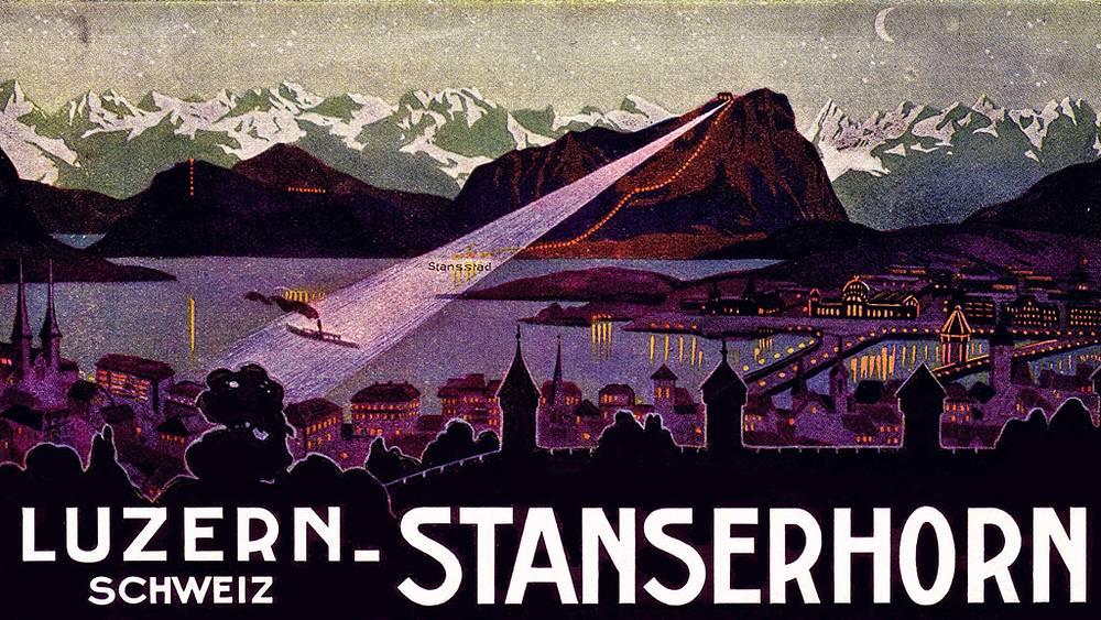 Подъем на Штансхорн всегда с XIX века был одной из туристических достопримечательностей Швейцарии /фото предоставлено компанией Cabrio/