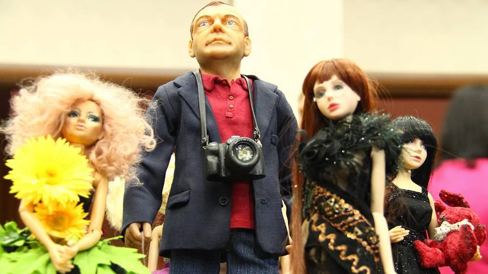 Кукла Дмитрия Медведева автора Светланы Пчельниковой