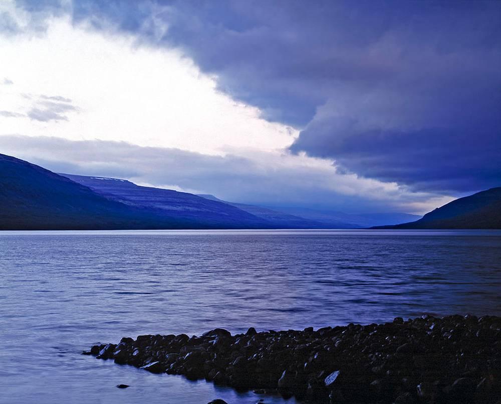 Плато Путорана. Озеро Аян