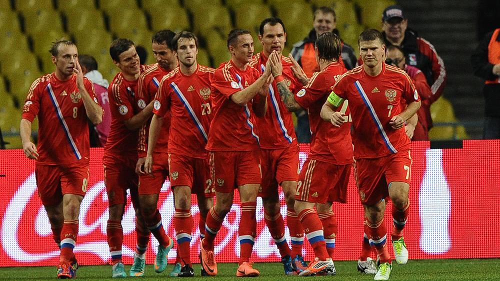 Игроки российской сборной после матча