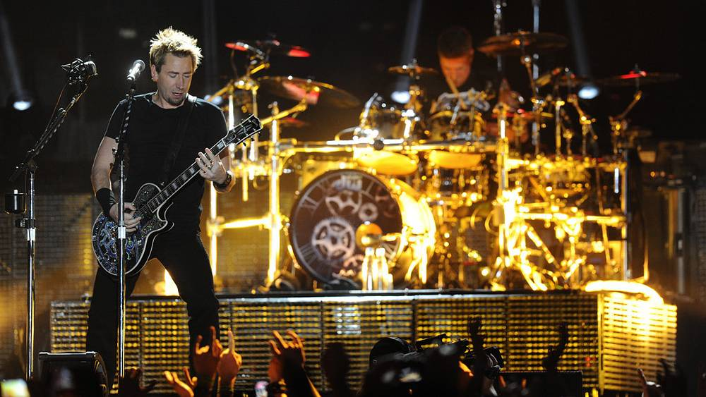 "Вокалист и гитарист канадской рок-группы ""Nickelback"" Чад Крюгер"