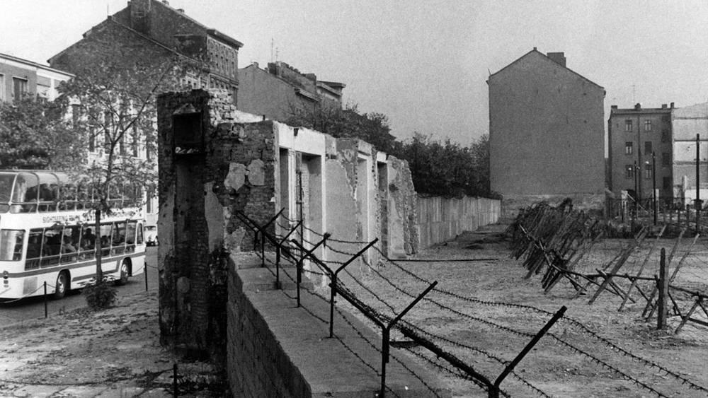 Фрагмент Берлинской стены, 1960-е годы