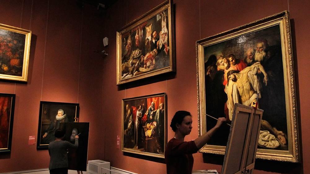 Зал фламандской живописи
