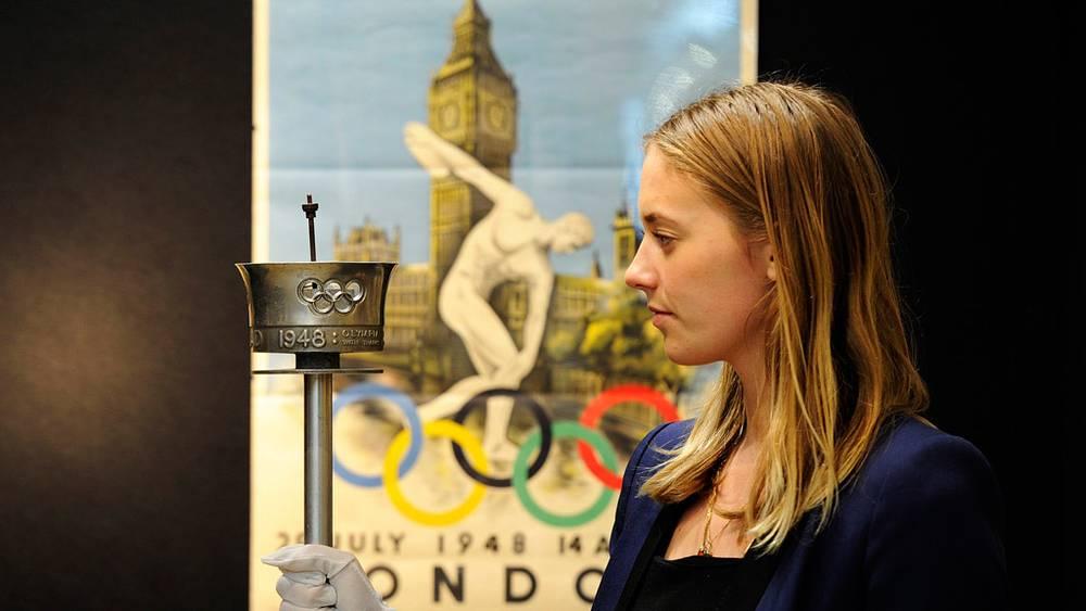 Факел Олимпийских Игр-1948
