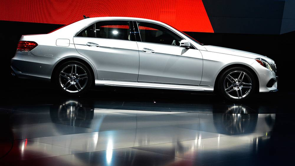 Одна из новых моделей от Mercedes-Benz
