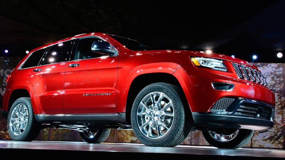 Новый Jeep Grand Jerokee