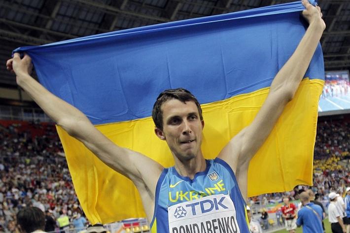 Чемпионом мира по прыжкам в высоту стал украинец Богдан Бондаренко