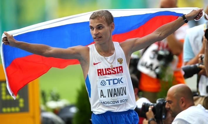 Александр Иванов /спортивная ходьба на 20 км/