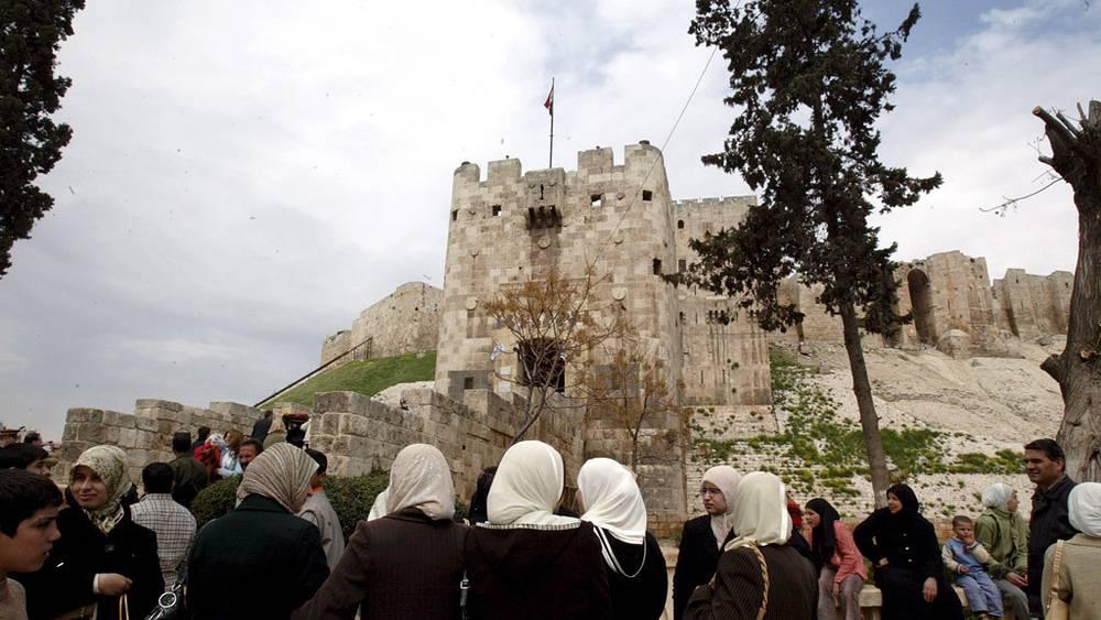 Крепость в Алеппо. Фото ЕРА/ИТАР-ТАСС