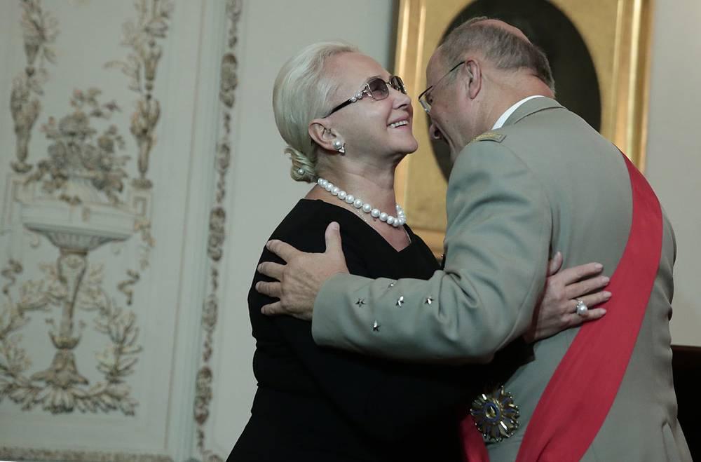 Татьяна Анодина и Жан-Луи Жоржелен. Фото ИТАР-ТАСС/ Денис Вышинский