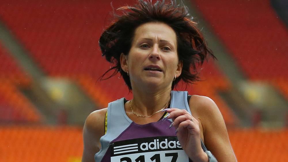 Победительница марафона Ирина Смольникова. Фото ИТАР-ТАСС/ Валерий Шарифулин