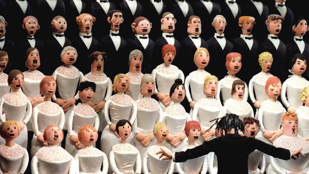 """Сцена из спектакля """"Необыкновенный концерт"""". Фото ИТАР-ТАСС/ Борис Кавашкин"""