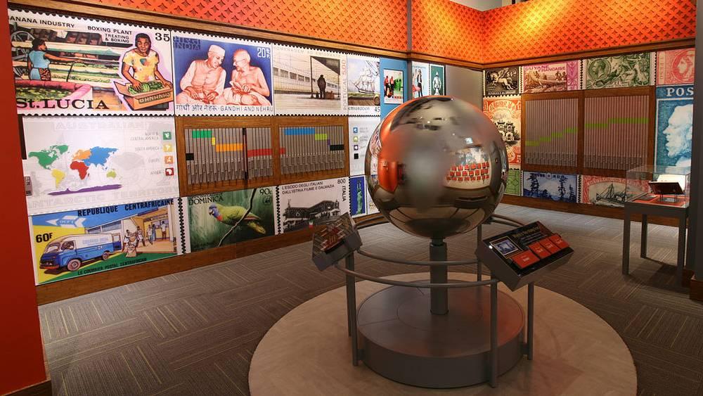 Вид экспозиции музея. Фото Smithsonian National Posta Museum