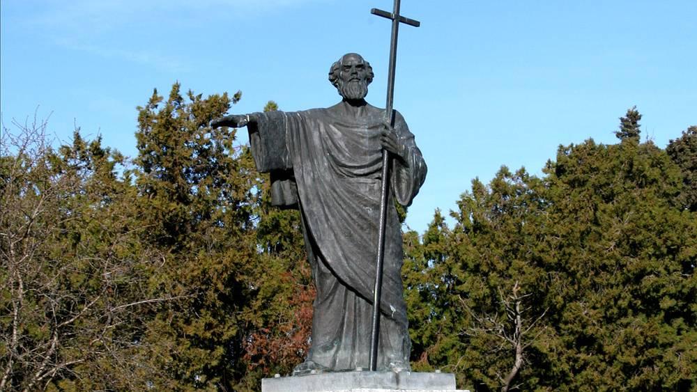 Памятник Святому апостолу Андрею. Фото ИТАР-ТАСС/ Алексей Павлишак