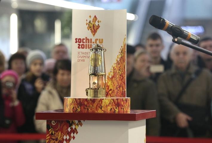Олимпийский огонь Игр-2014