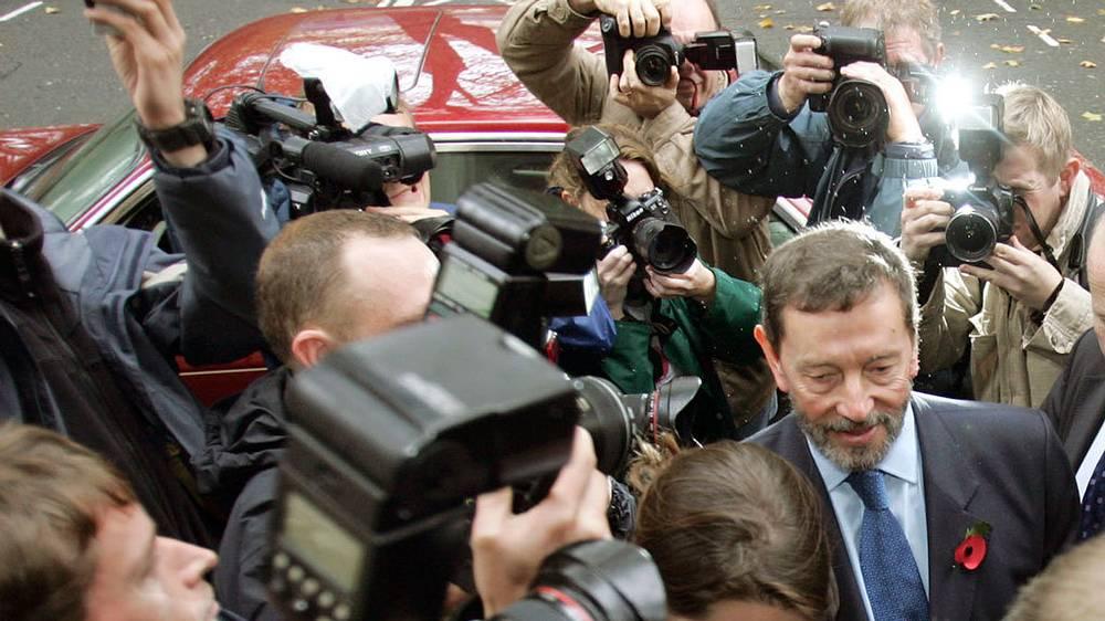 Дэвид Бланкетт, министр внутренних дел Великобритании (с 2001 по 2004 гг). Фото AP/Jane Mingay