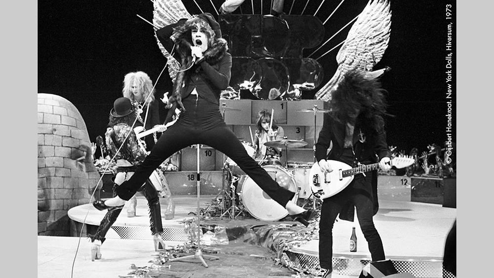 Группа New York Dolls, 1973 г. Фото Гилберт Ханекроот