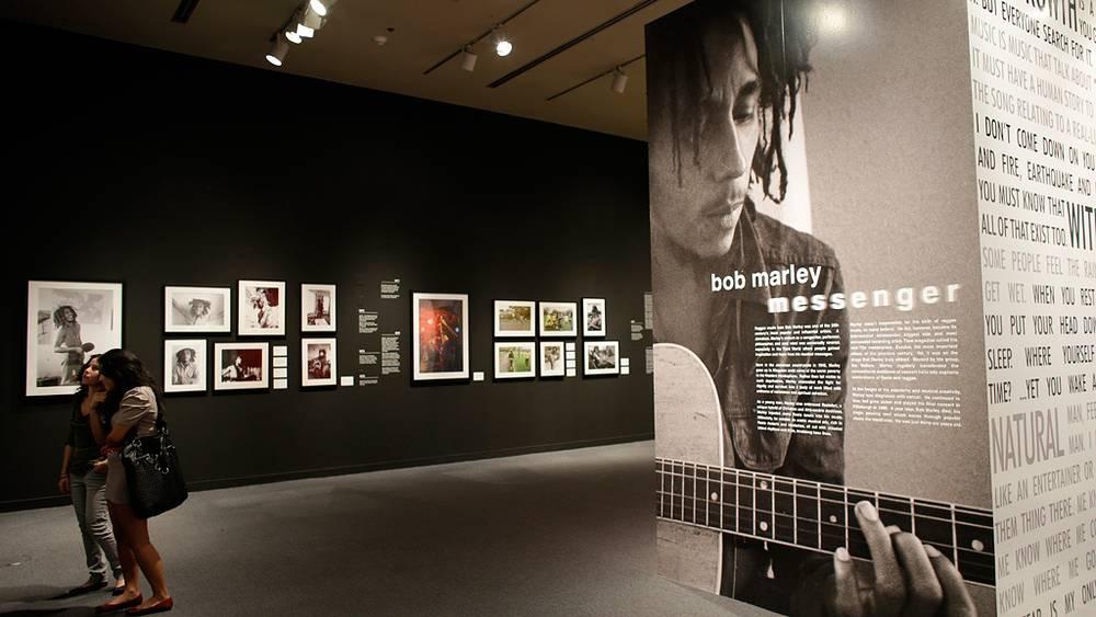 Выставка, посвященная музыканту. Фото AP Photo/Lynne Sladky