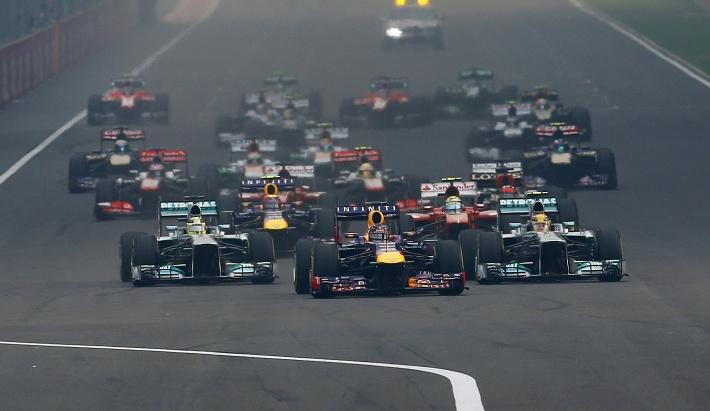 Феттель обеспечил себе итоговую победу на Гран-при Индии