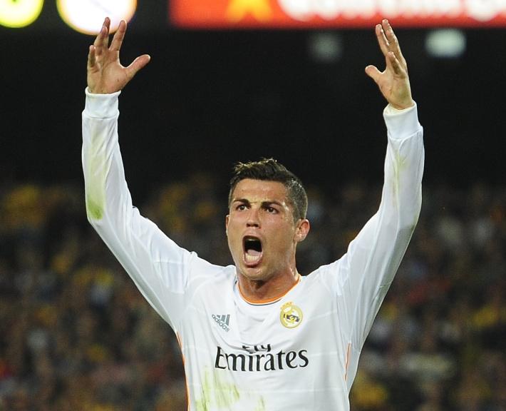 """Криштиану Роналду /""""Реал"""", сборная Португалии/. AP Photo/Manu Fernandez"""