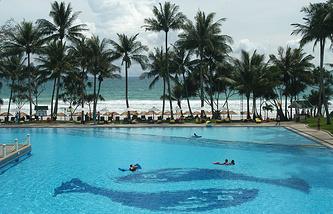 Отель на острове Пхукет, Таиланд