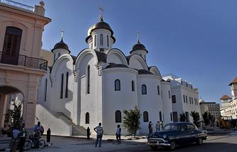 Храм Казанской иконы Божьей Матери в Гаване