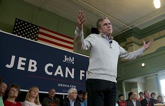 Бывший губернатор штата Флорида Джеб Буш