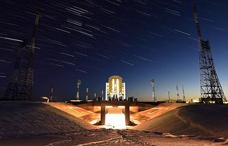 Стартовая площадка космодрома Восточный, март 2016 года