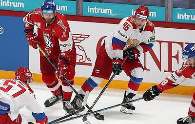 Czech ice hockey team beats Russia to grab Karjala Cup