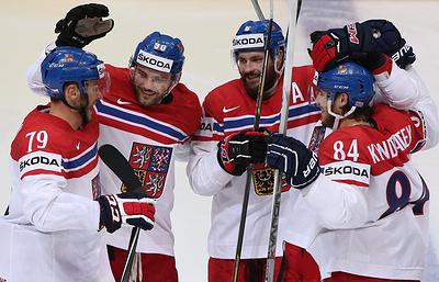 Хоккеисты сборной Чехии разгромили команду Норвегии в матче ЧМ-2016