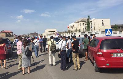 Правительство Киргизии назвало атаку на посольство Китая в республике терактом