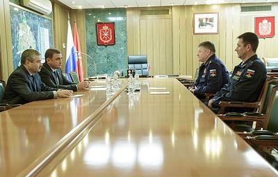 Губернатор Тульской области провел рабочую встречу с командующим ВДВ РФ
