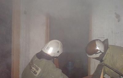 Три человека спасены при пожаре в жилом доме во Владимирской области