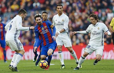 """""""Барселона"""" и """"Реал"""" сыграли вничью в матче чемпионата Испании"""