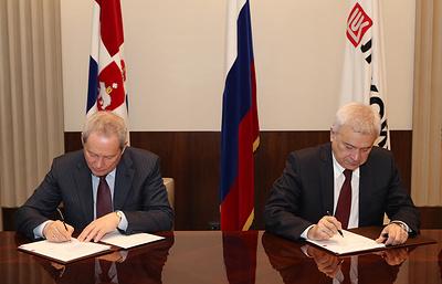 Глава Пермского края и президент ЛУКОЙЛа подписали протокол о взаимодействии
