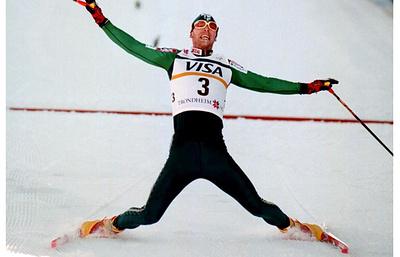 Проект памятника известному лыжнику Мике Мюллюля подготовлен в Финляндии